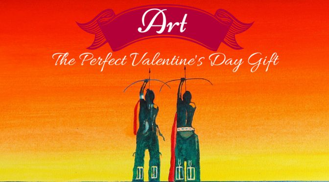 Why Art Makes the Perfect Valentine's Gift