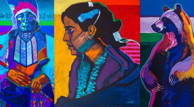 Emerging American Indian Artist Finds Voice in Graffiti Art